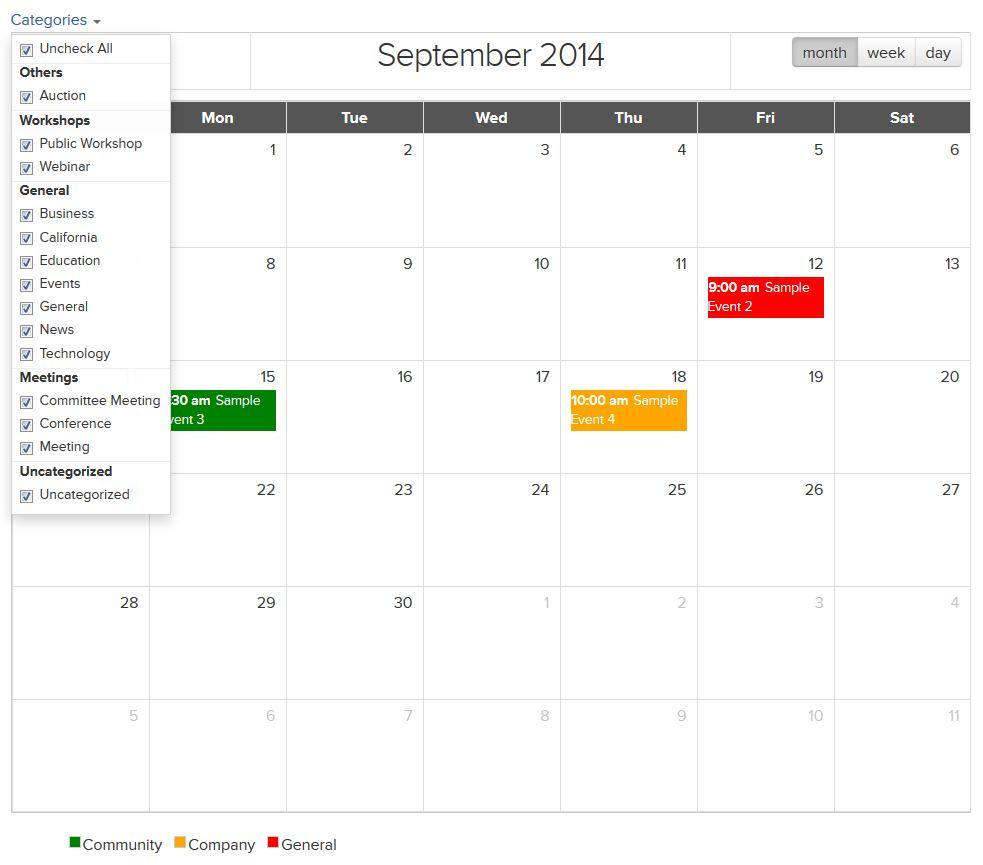 SymSoft Event Calendar Module - Sitecore Marketplace