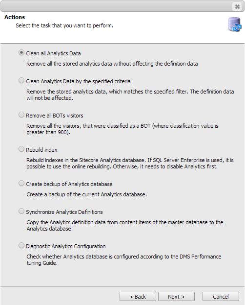 Analytics Database Manager (ADM) - Sitecore Marketplace